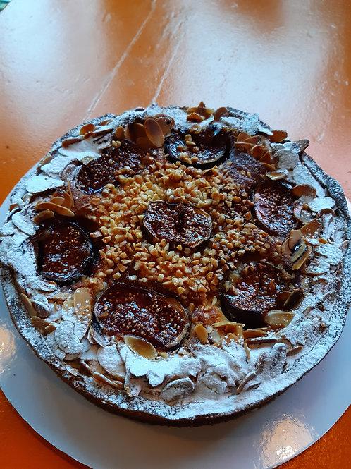 Frangipane Tart with Seasonal Fruits