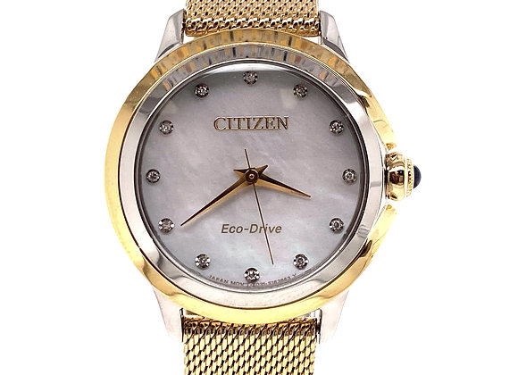WOMEN'S CITIZEN ECO-DRIVE WATCH