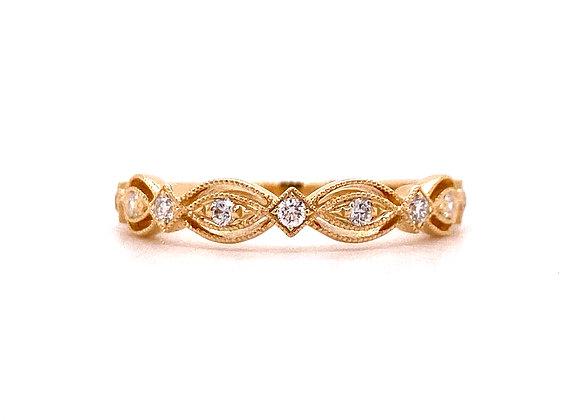 14KT YELLOW GOLD DIAMOND RING4