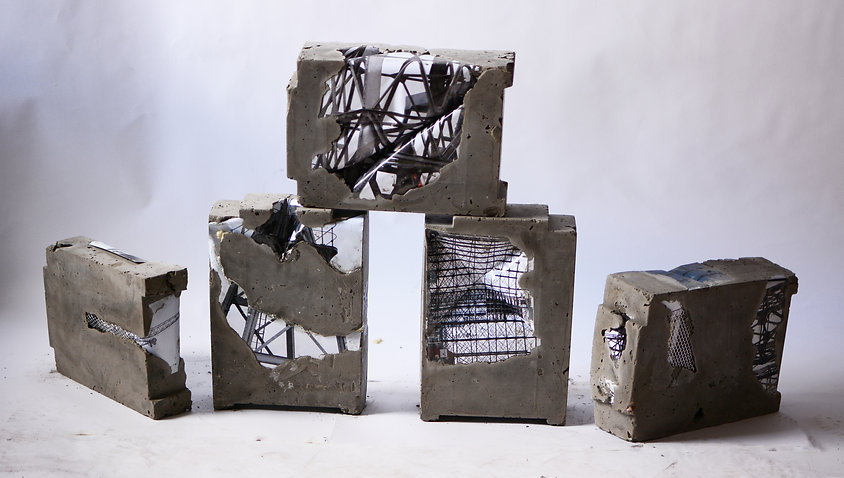 industrial concrete art
