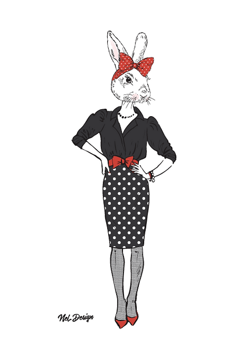 Working Girl Rabbit