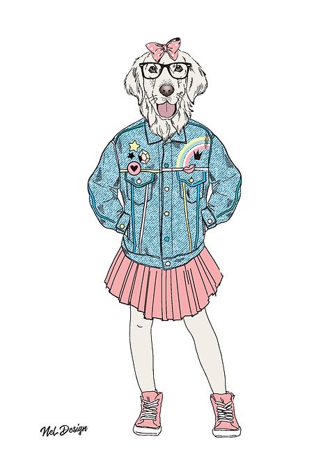 80s Goldie Chick