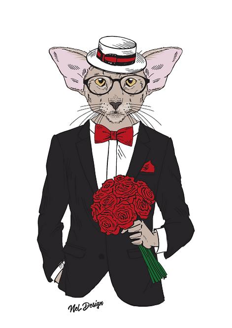 Tuxedo Roses Oriental