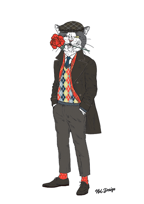 Valentines Cat