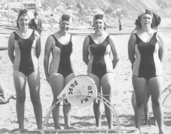 Otaki Surf Lifesaving girls