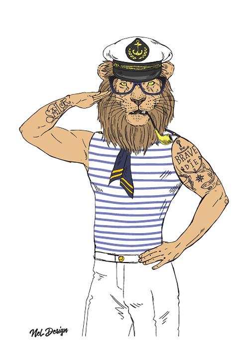Nautical Lion