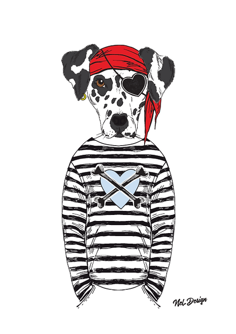 Pirate Dalmation