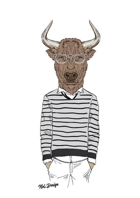 Trendy Bison