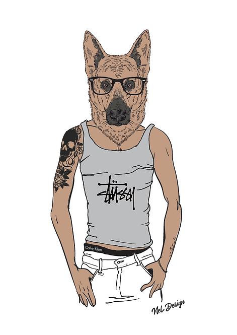 Tattoo GSD