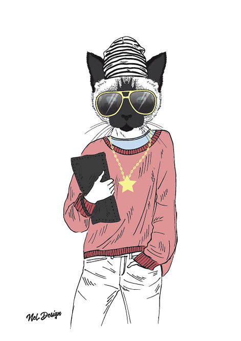 Siamese Hipster
