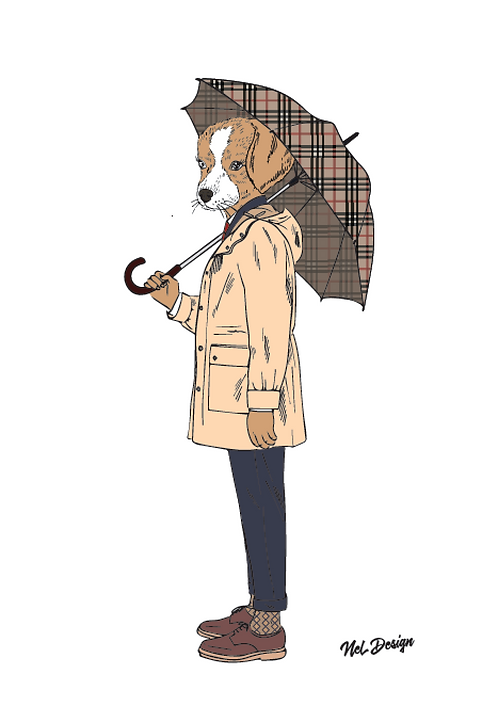 Rainy Day Mutt