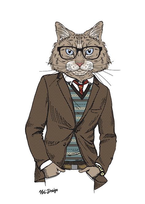 Siberian Retro Cat