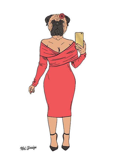 Bullmastif Lady