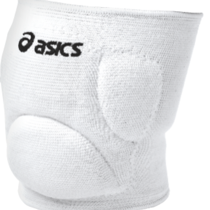 Asics - Knee Pad Ace Low Profile-White & Black