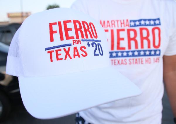 Fierro for Texas '20 Trucker Hats