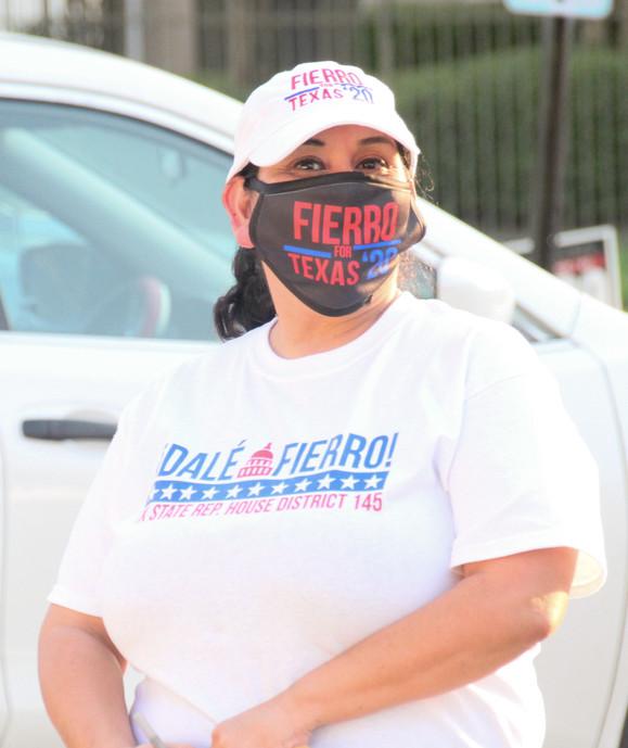 Fierro for Texas '20 Soft Basebal caps • Fierro for Texas '20 Face Mask