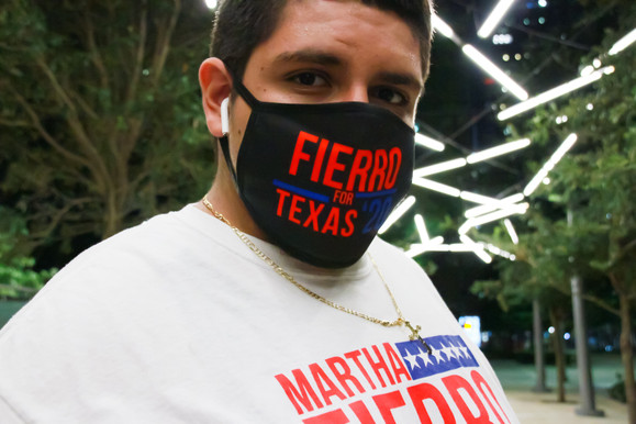 Fierro for Texas '20 Face Mask