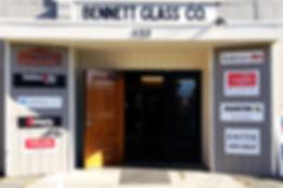 Bennett Glass Company Storefront