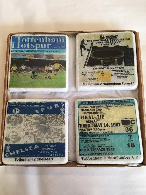 Tottenham Hotspur Coaster Set