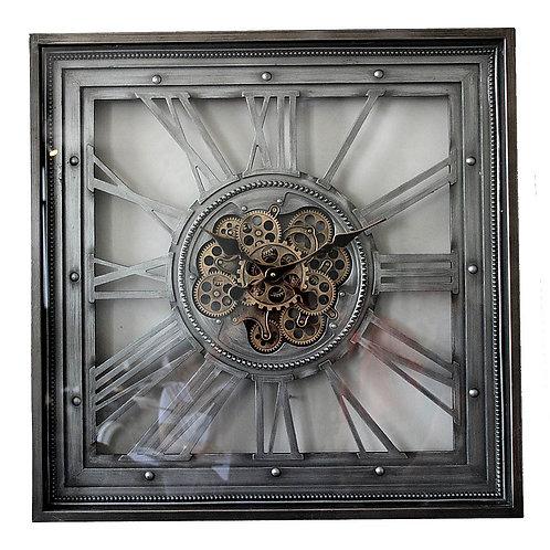 Large Mechanical Wall Clock