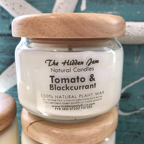 Hidden Jem Tomato & Blackcurrant Pop Jar Candle 325ml