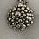 Thumbnail: Silver and Grey Circle Necklace