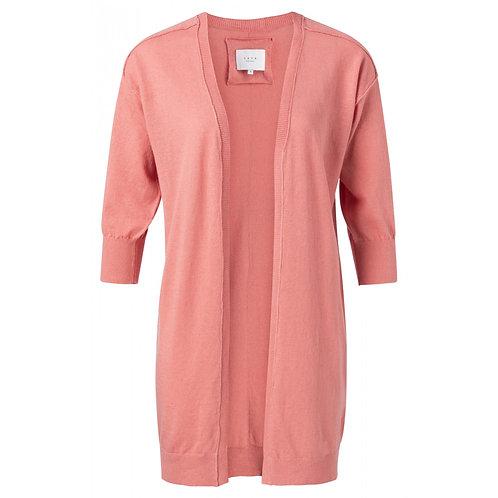 Yaya Linen Cotton Blend Loose Fit Cardigan