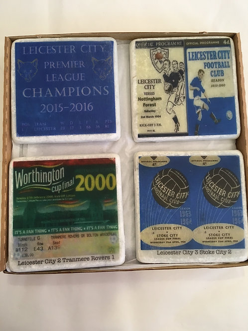 Leicester City Coaster Set