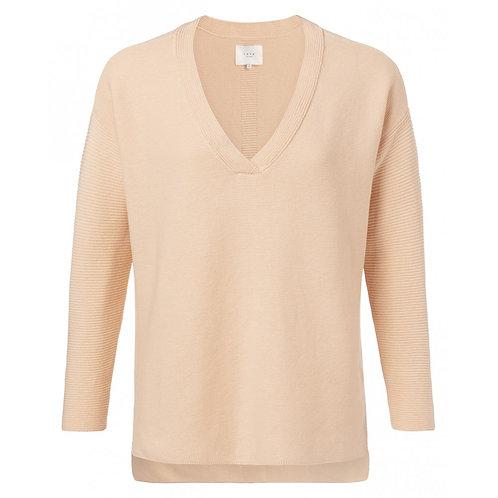 Yaya Soft Peach Sweater