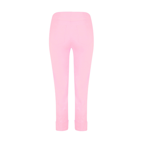 Robell Bella Cuff Pink Trousers