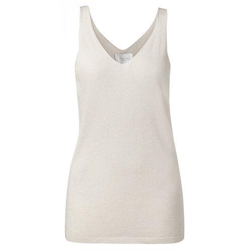 Yaya Knitted Linen Vest