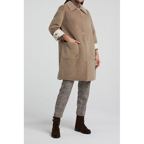 Yaya Long Faux Fur Jacket