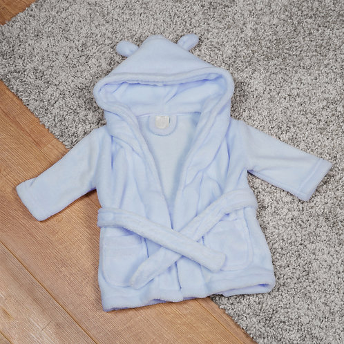 Blue Baby Dressing Gown