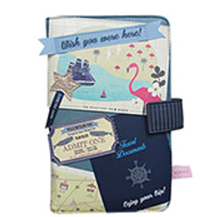Memento Beach Travel Wallet