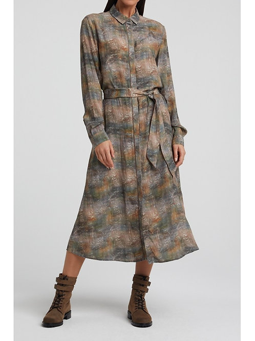 Yaya Maxi Shirt Dress
