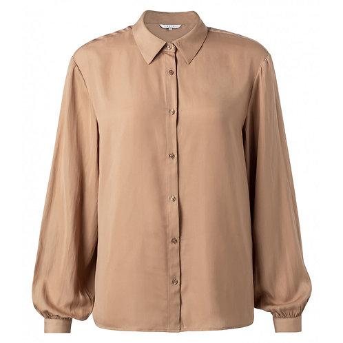 Yaya Toffee Silky Shirt