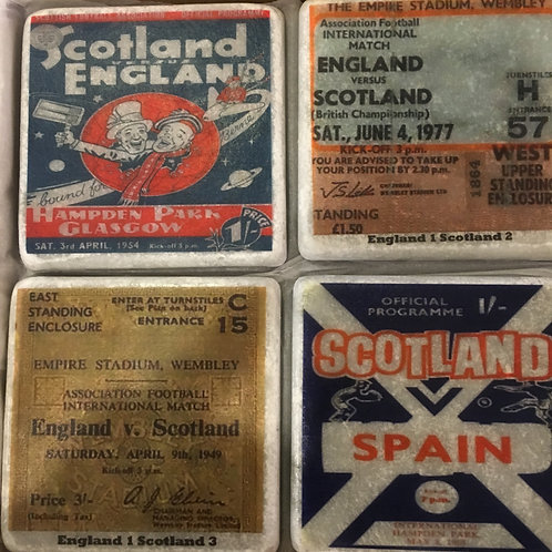 Scotland Coaster Set