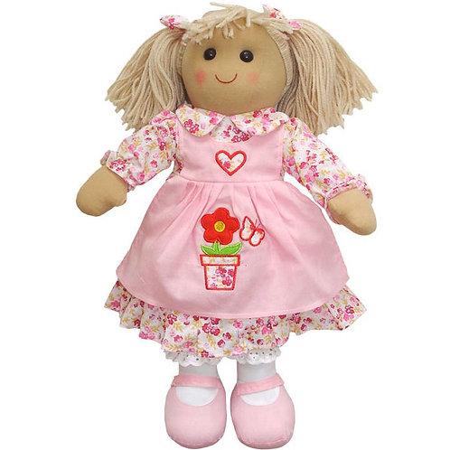 Flower Pot Rag Doll