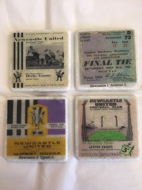 Newcastle United Coaster Set
