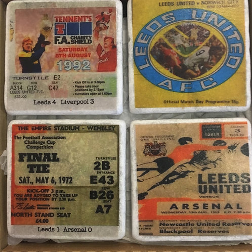 Leeds United Coasters Set