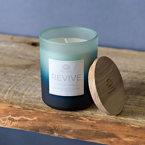 Serenity Orange Blossom, Jasmine & Saffron Small Candle
