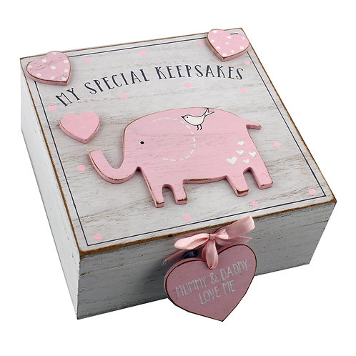 My Special Keepsake Box - Pink