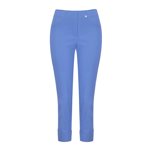 Robell Marie Blue Cropped Trousers