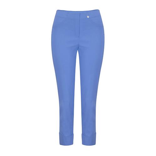 Robell Bella Cuff Blue Trousers