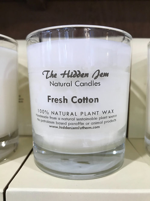 Hidden Jem Fresh Cotton 30cl Candle
