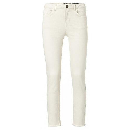 Yaya Off White Straight Jeans