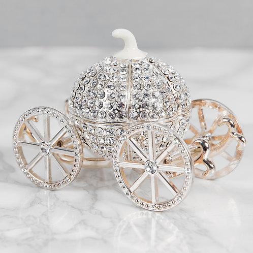 Crystal Carriage Trinket Box