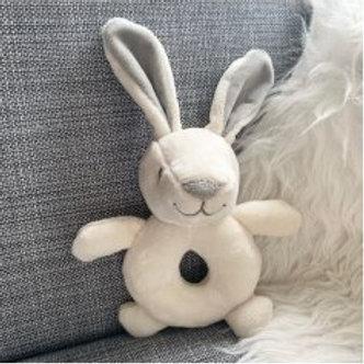Little Bunny Plush Rattle