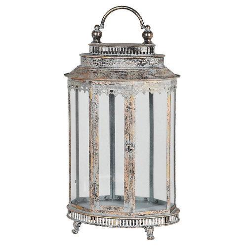 Medium Oval Metal Lantern