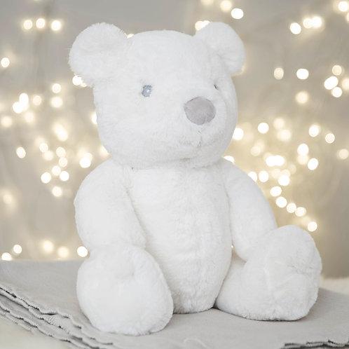 Large White Plush Bear